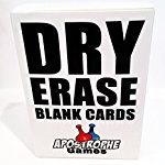 Dry Erase Card Deck